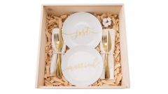 """Just married"" gift box"